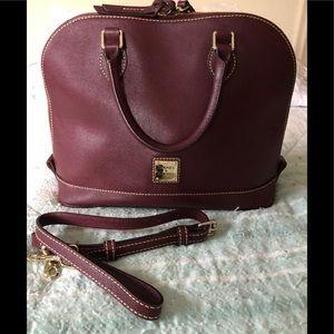 Downey & Bourke zip zip satchel